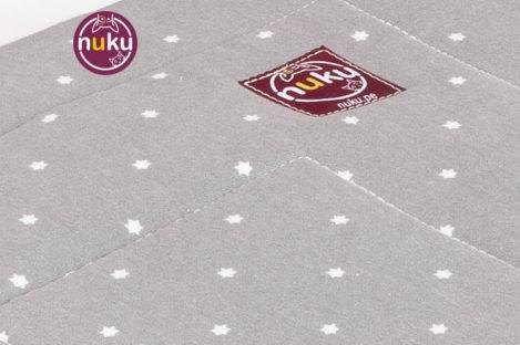 Cama para perro tipi Hamaca funda Gray Stars camas