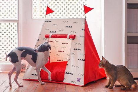 Cama para perro modelo Castle