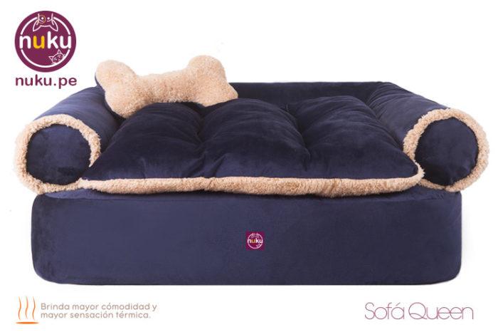 Camas para perros grandes en lima peru - Sofás para mascotas Nuku Modelo Queen