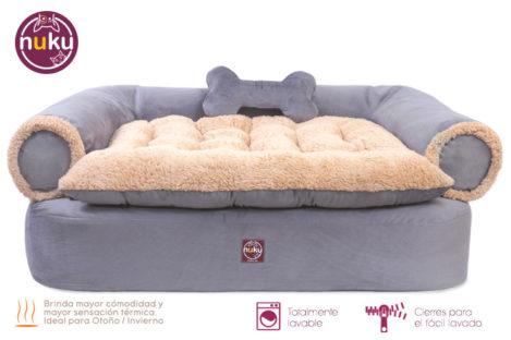 Cama de perro tipo sofa Lima Delivery a todo el Perú