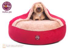 Cama para perro tipo cueva
